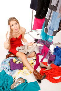 overwhelmed by clutter