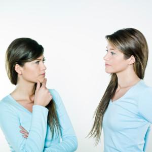 unhappy twins