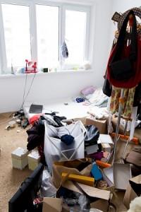 hoarding possessions